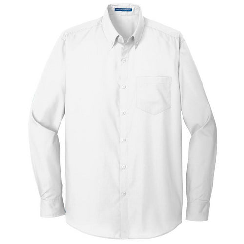 Men's Tall Port Authority Carefree Poplin Shirt