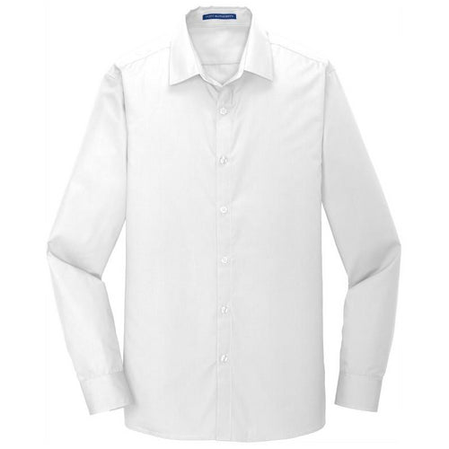 Men's Slim Fit Port Authority Carefree Poplin Shirt