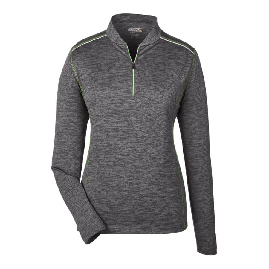 Ladies' Ash City Kinetic Performance Quarter-Zip