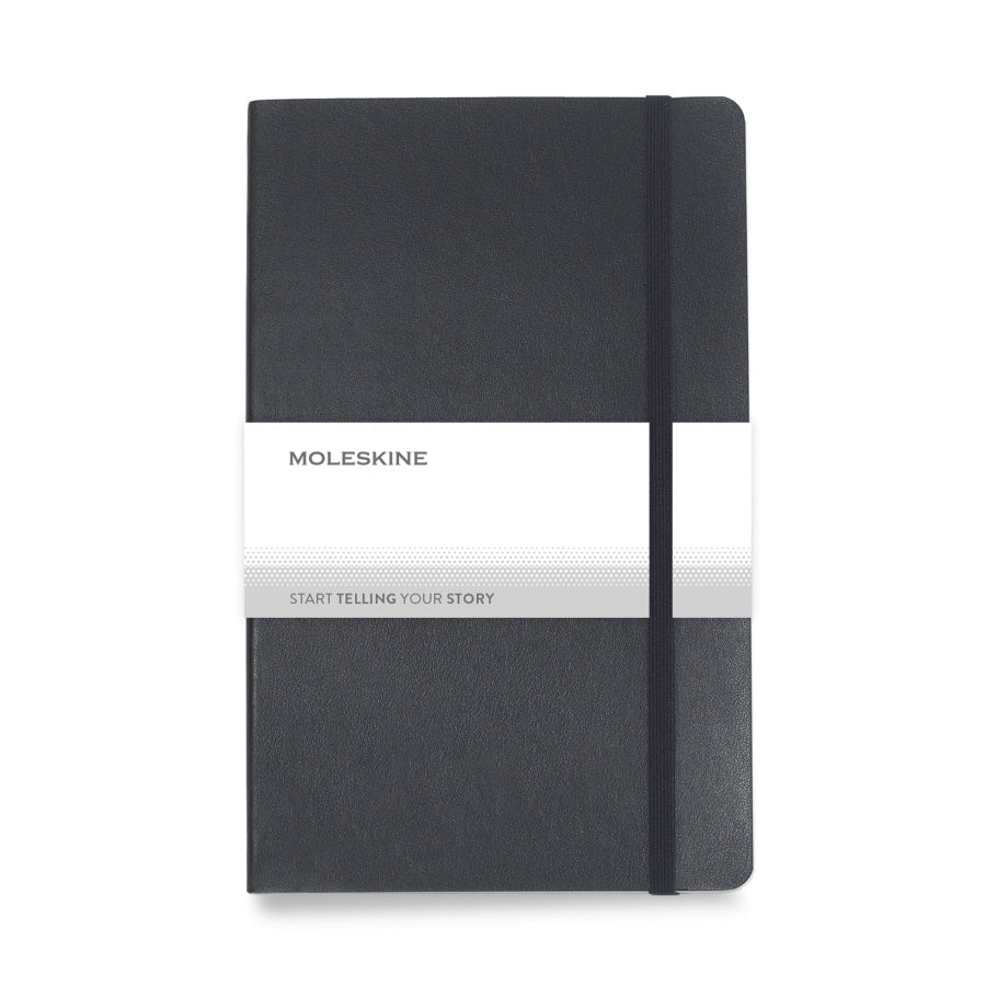 Moleskine Soft Cover <br>Ruled Large Notebook