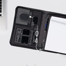Load image into Gallery viewer, Life In Motion <br>Linked Charging Padfolio
