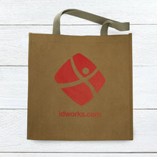Load image into Gallery viewer, Washable Kraft Paper <br> Shopper Tote