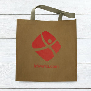 Washable Kraft Paper <br> Shopper Tote