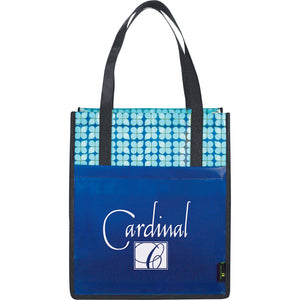Big Grocery <br>Laminated Shopper Tote