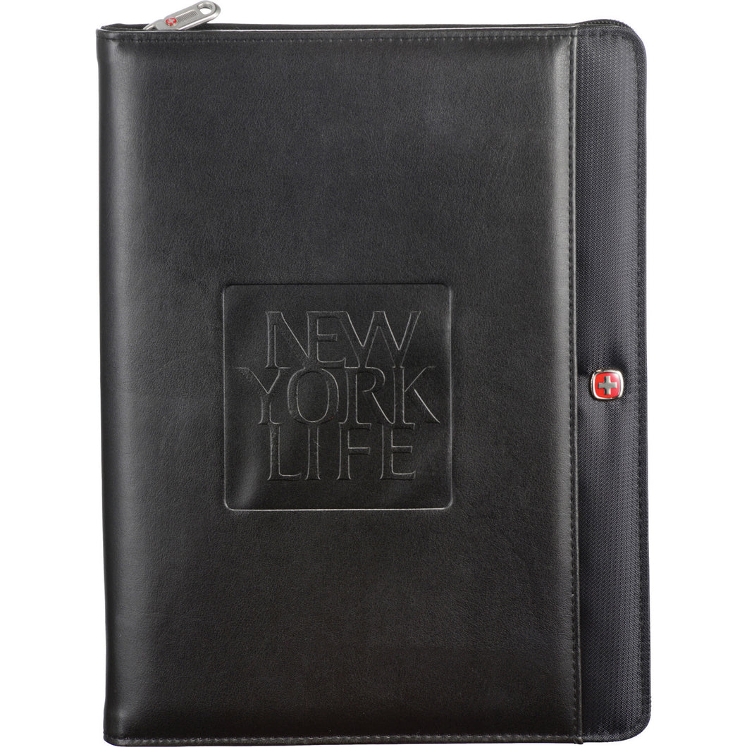 Wenger <br>Tech Zippered Padfolio