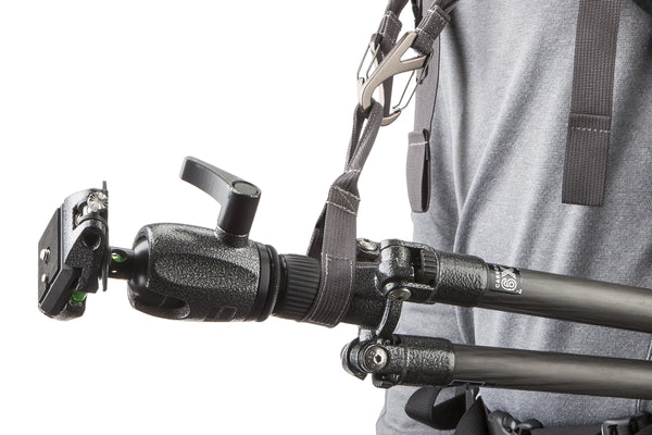 Tripod Collar strap can be fixed on most tripods