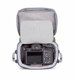 Multi-Mount 10 holster is sized-to-fit the specific camera configurations of compact DSLRs and Mirrorless systems