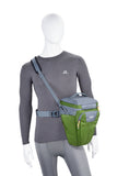 Weight-bearing shoulder strap with integrated belt