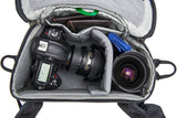 DSLR with lens attached and spare lens