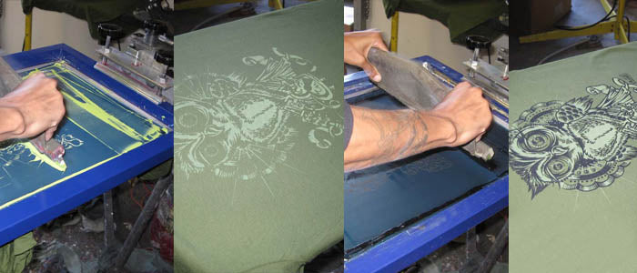 Make Custom Screen Printed Clothing | Lucky Mule