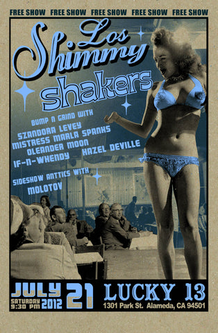 Los Shimmy Shakers at Lucky 13 July PSTR-LM025