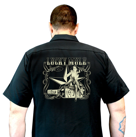 Lucky Bottle Workshirt WS-132