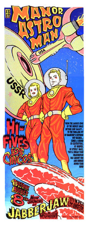 Man or Astroman/ Hi-Fives Poster PSTR-PS020