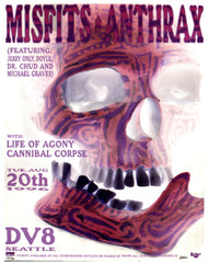 Misfits/Anthrax PSTR-PS002