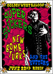 Supersuckers & New Bomb Turks  PSTR-LM000