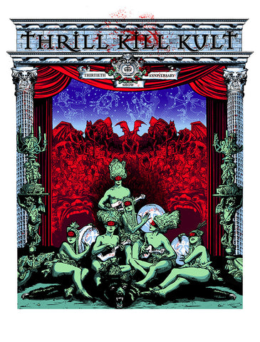 30 Year Anniversary Thrill Kill Kult PSTR-LM031