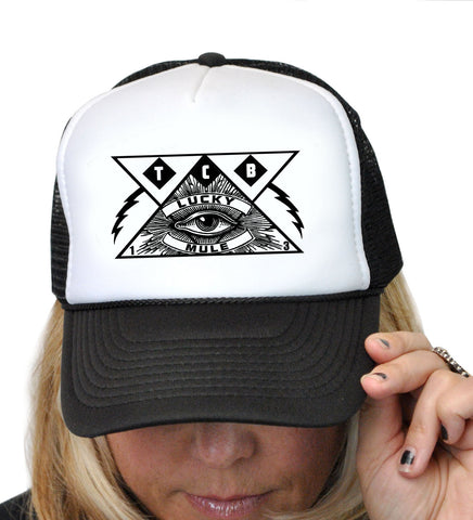 All Seeing Eye Trucker Hat  T-331