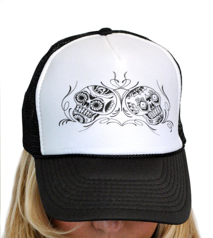 Day of Dead Trucker Hat T-148