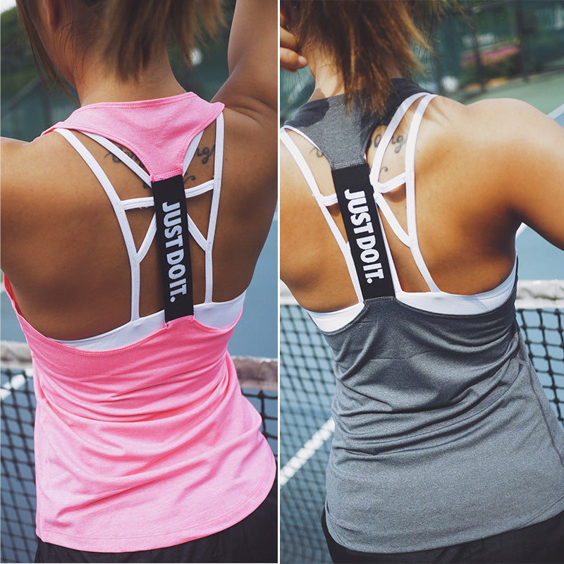 Women Fitness,Yoga, Gym, Outdoor Sports Vest Sleeveless Tank Tops
