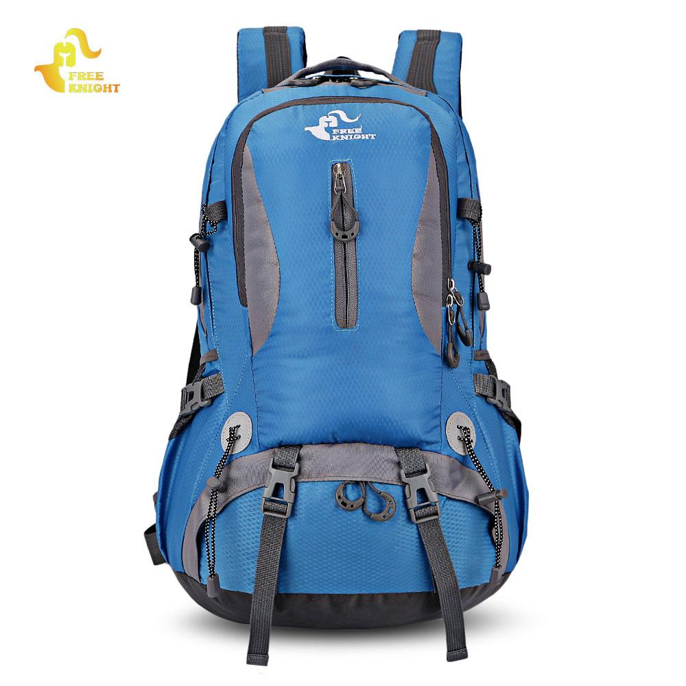 30L Free Knight Lightweight Waterproof Camping Hiking Mountaineering Trekking Backpack