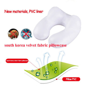 Grade A Comfortable U-Shape Inflatable Travel Neck Pillows