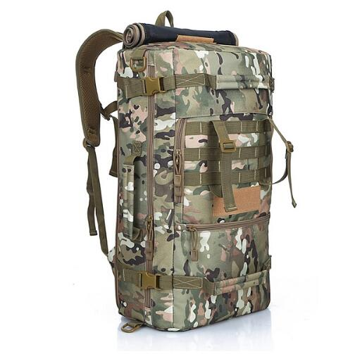 50L Military Tactical Camping Mountaineering Hiking Travel Backpack