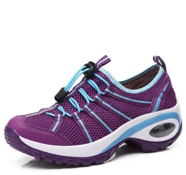 Women breathable sneaker hiking, trekking and climbing shoes