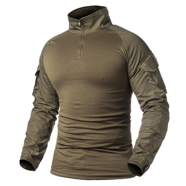 Men outdoor tactical breathable camping, hiking shirt-ReFire Gear