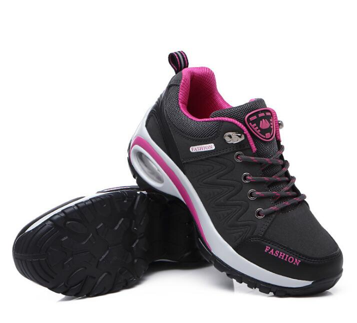 Women Waterproof Leather Sport Hiking, Trekking, Climbing Shoes