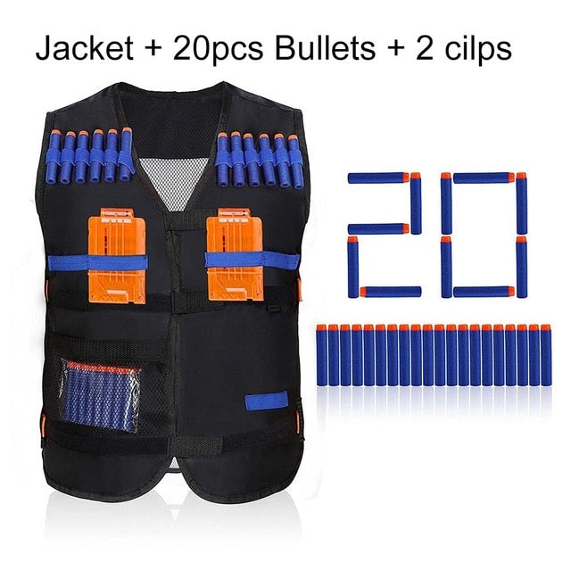 Top quality tactical nerf gun accessories