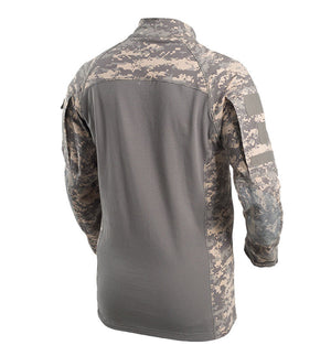 Men outdoor Army camouflage quick dry hiking / hunting shirt.