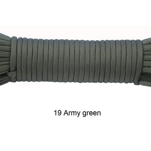 Paracord 550 Rope Type III 7 Stand 100/ 50FT Paracord Cord Rope Survival kit