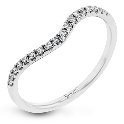 CR131-D ENGAGEMENT RING Platinum White Band
