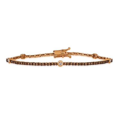 14K Strawberry Gold Bracelet