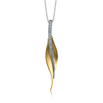 DP113-Y PENDANT 18k Gold White