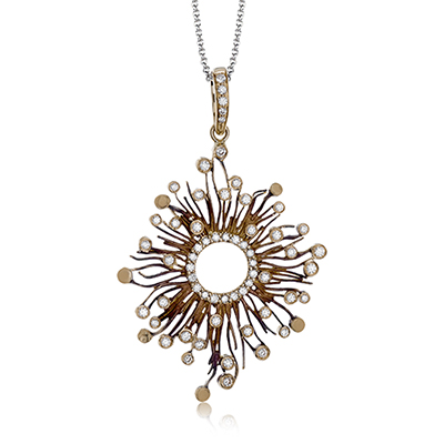 DP250 PENDANT 18k Gold White