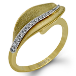 DR246-Y RIGHT HAND RING 18k Gold White