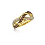 14K Honey Gold Ring