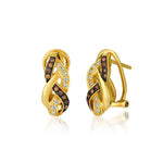 14K Honey Gold Earrings