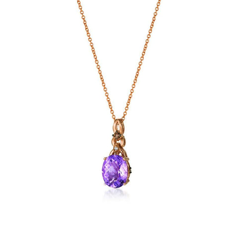 14K Strawberry Gold Pendant