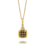 14K Honey Gold Pendant