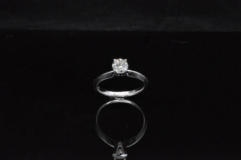 DIAMOND ENGAGMENT RING .33 CTW 14KW CANDLE LIGHT
