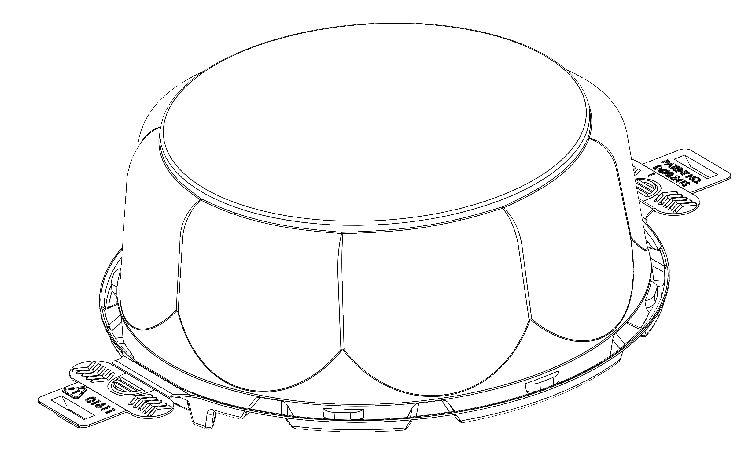 cake container lid