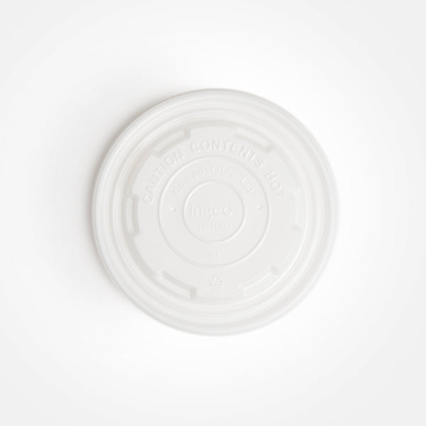 Compostable Lid for 12, 16 and 32 oz. Soup Bowl