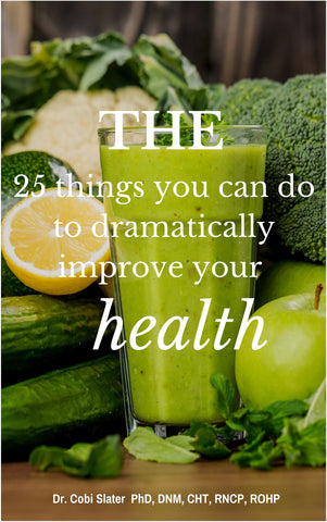 25 things you can do to dramatically improve your health!