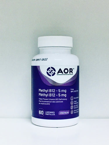 B12- Methylcobalamin 5mg (60 tablets)