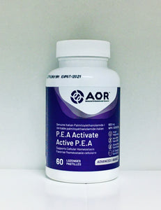 P.E.A. Activate 600 mg Lozenges (60 lozenges)