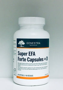 Super EFA Forte Capsules + D (60 Softgels)