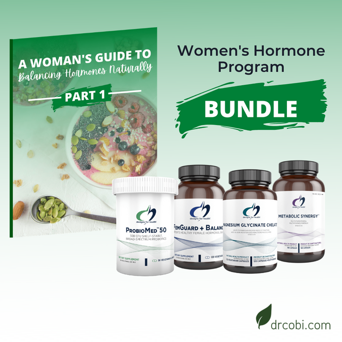 The Hormone Balancing Program + Supplements