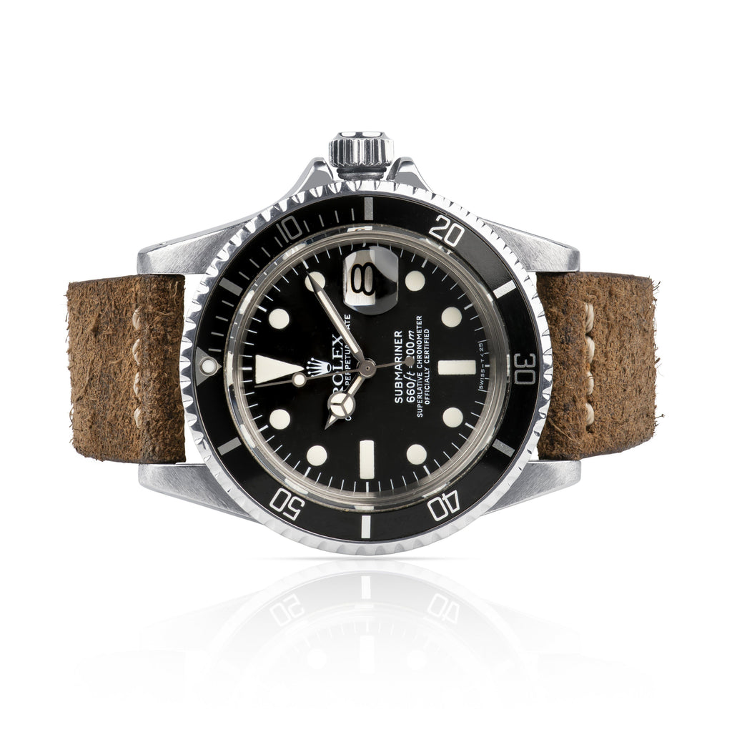 Rolex Vintage Submariner Stainless Steel 1680 Circa.1977
